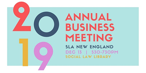 2019 Annual Business Meeting