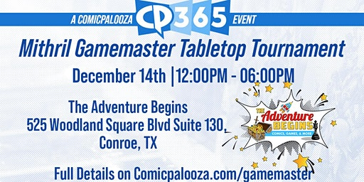 The Adventure Begins' Mithril Gamemasters Qualifier(MGM) - CP2020