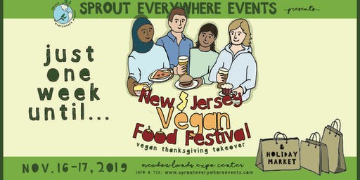 New Jersey VegFest: November 16 & 17, 2019