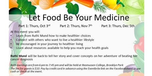 12-5-19 Let Food Be Your Medicine Follow Up Group