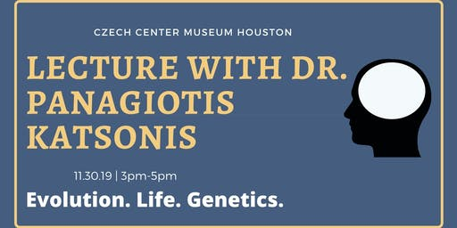 Lecture on Life, Evolution, and Human Genetics with Dr. Panagiotis Katsonis