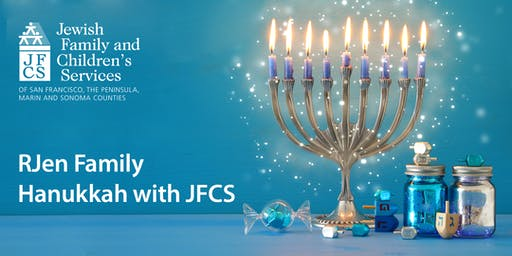 RJen Family Hanukkah with JFCS