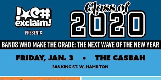 Class Of 2020 / Hamilton: Basement Revolver, Capitol, Lisa, Dizzy Spells