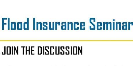 Flood insurance Seminar tickets