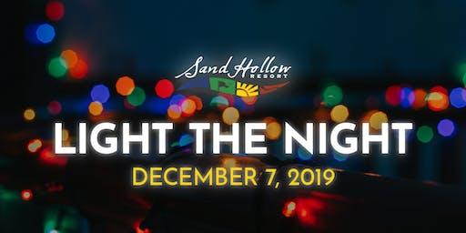 Sand Hollow Resort Light the Night Charity Event