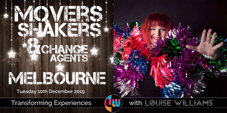Movers, Shakers & Change Agents Event - December 2019 tickets