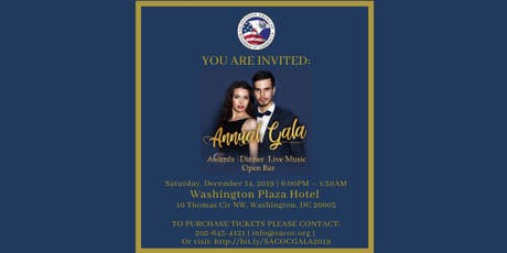 SALVADORAN AMERICAN CHAMBER OF COMMERCE ANNUAL GALA 2019 tickets