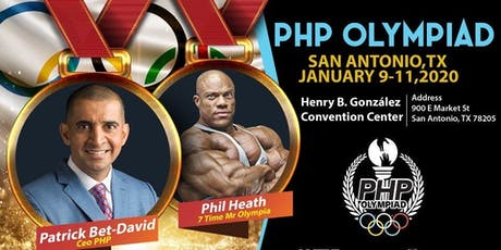 The Olympiad 7X Mr Olympia Phil Heath and Renounce Leader Patrick Bet-David tickets