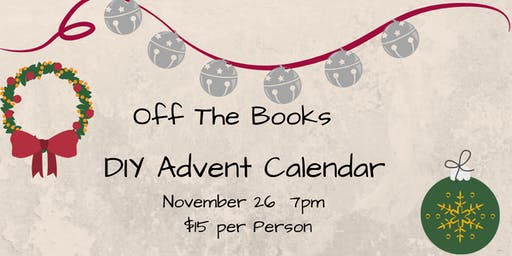 Off The Books: Advent Calendar
