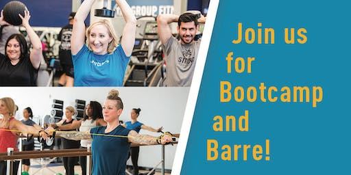 In-Shape Bootcamp and Barre