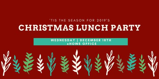 Christmas Lunch Party