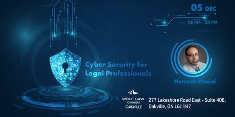 CYBER SECURITY FOR LEGAL PROFESSIONALS tickets