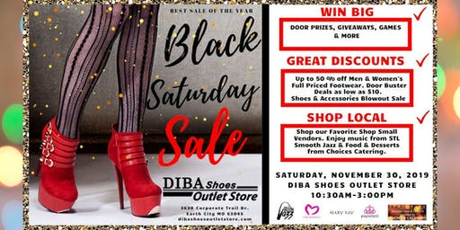 Black Saturday Sale/ Customer Appreciation Party
