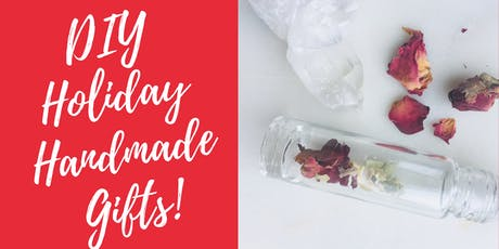 Holiday Gifts-Make your own custom Pure Perfume & Gemstone Bracelet! tickets