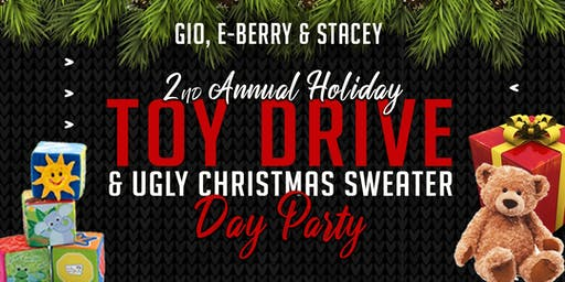 HOLIDAY TOY DRIVE FUNDRAISER  & UGLY SWEATER PARTY
