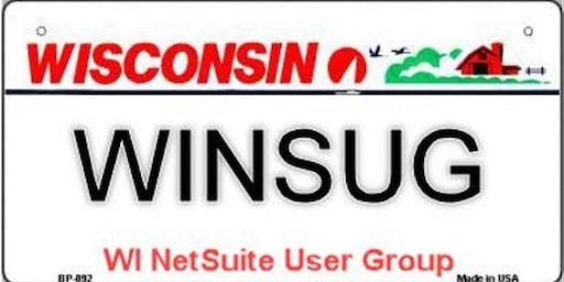 Wisconsin NetSuite User Group Meeting