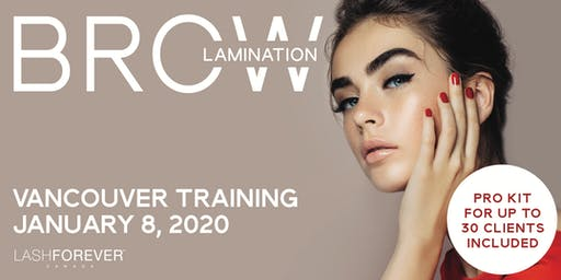 Brow Lamination Vancouver Training Course
