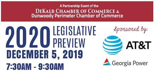 2020 Legislative Preview Breakfast & Forum