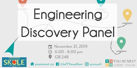 Engineering Discovery Panel tickets
