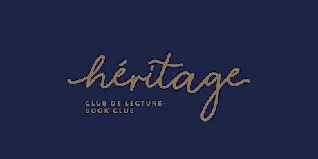 Club de lecture Héritage | Femmes aux temps des carnassiers billets
