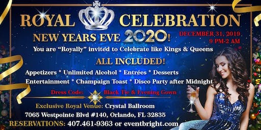 Royal 2020 New Year's Eve Celebration