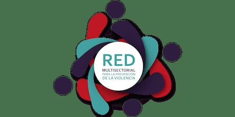 1er Foro de la Red Multisectorial para la Prevención de la Violencia boletos