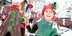 Elf Acro at Salamanca Market