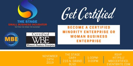Woman Owned and Minority Business Enterprise Certification Workshop tickets