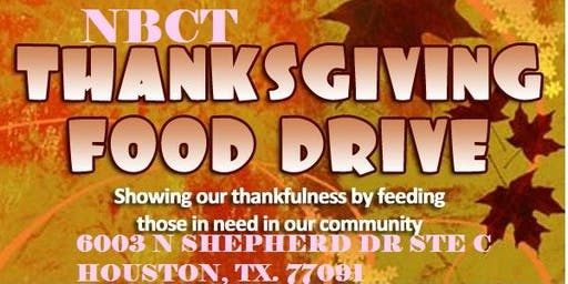 Thanksgiving Give Away 2019