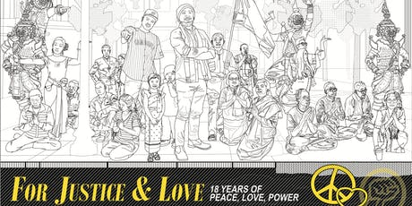 For Justice & Love: 18 Years of Peace, Love, Power tickets