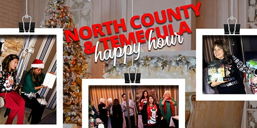 North County & Temecula Happy Hour and  White Elephant Gift Exchange