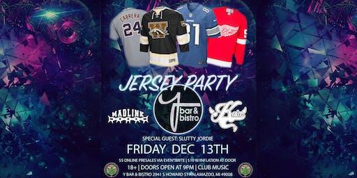Y Bar Jersey Party