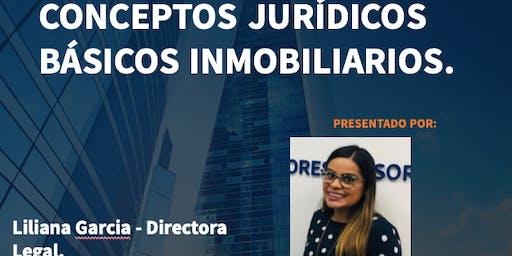 CONCEPTOS JURIDICOS BASICOS INMOBILIARIOS