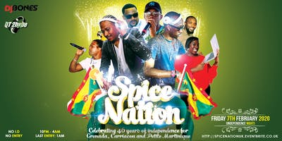 Spice Nation - Grenada 46th Independence Party