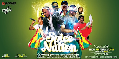 Spice Nation - Grenada 46th Independence Party tickets