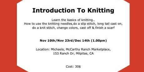 Introduction to knitting!