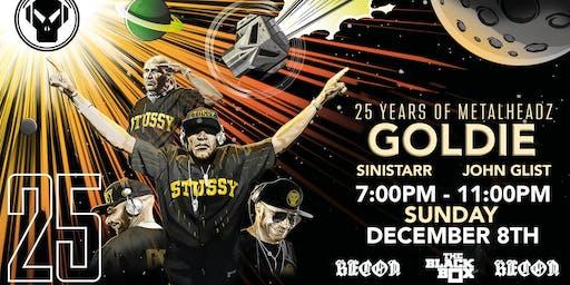 25 Years of Metalheadz USA Tour: Goldie