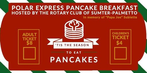 Polar Express Pancake Breakfast