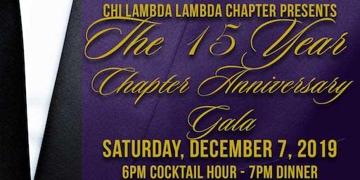 Chi Lambda Lambda 15th Anniversary Gala