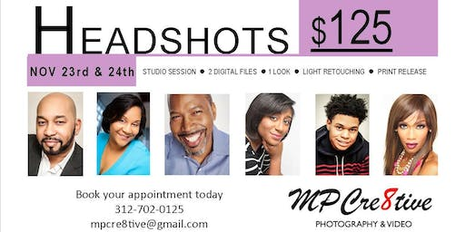 Headshots by MPCre8tive Photography & Video