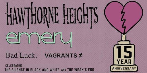 Hawthorne Heights & Emery 15th Anniversary Tour
