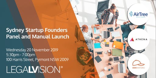 Sydney Startup Founders Panel and Manual Launch