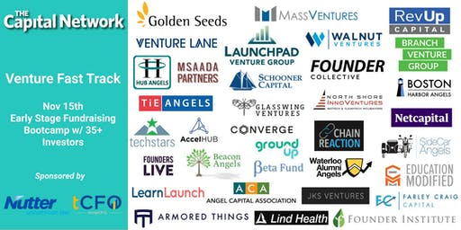 Venture Fast Track: Seed Fundraising Bootcamp for Early Stage Entrepreneurs & Meet 35+ Boston Investors!