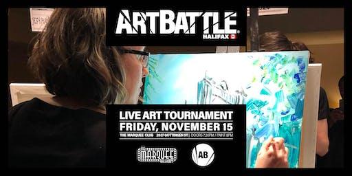 Art Battle Halifax - November 15, 2019