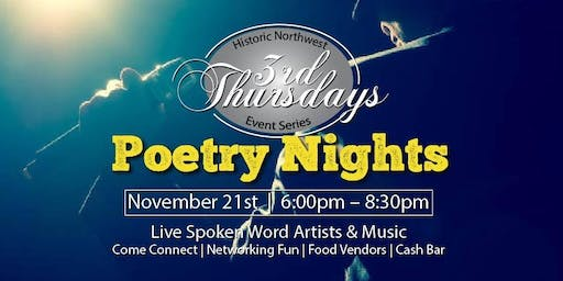Historic Northwest Poetry Open Mic Night