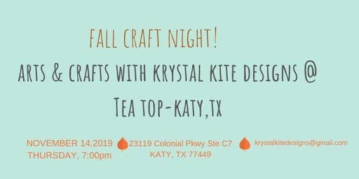 Fall Craft Night