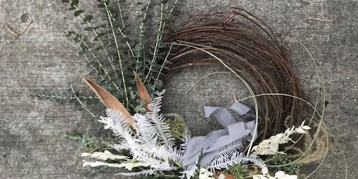 Seasonal Ethereal Wreath Making Workshop