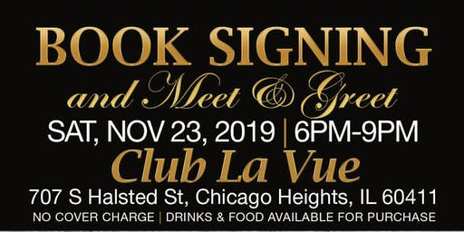 Derrick Seymour Presents......Tiana Von Johnson Book Signing & Meet-&-Greet