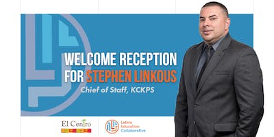 Welcome Reception for Stephen Linkous, Chief of Staff, KCKPS