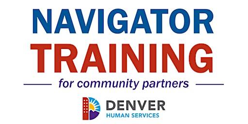 Denver Human Services Navigator Trainings